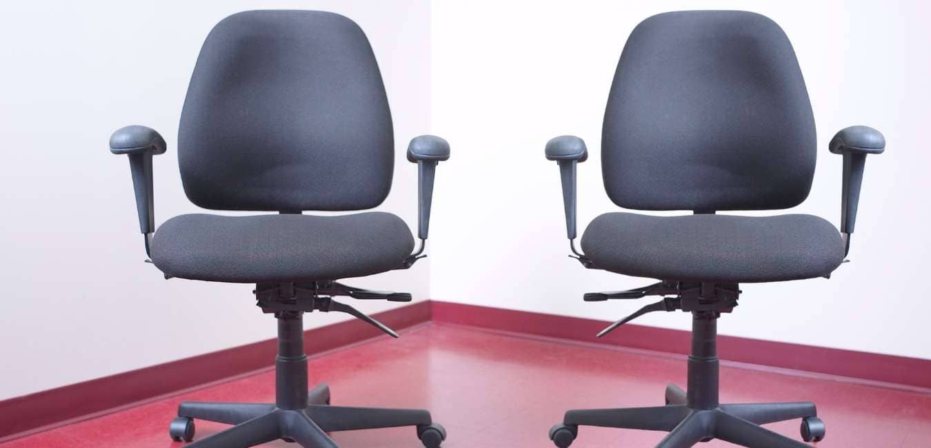 Types of Armrest in an office chair