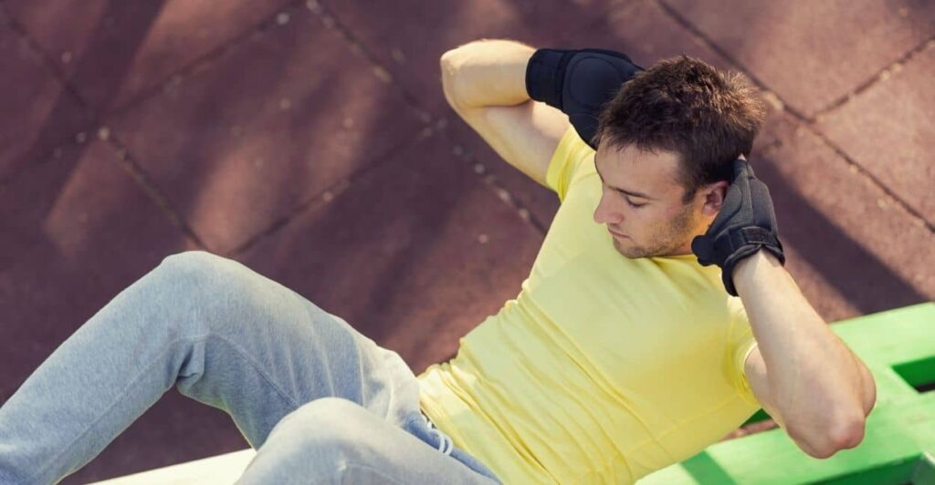Partial Crunches - Back pain