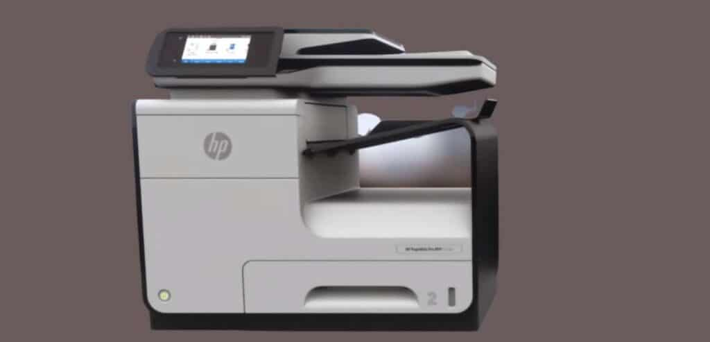 HP PageWide Pro 477dw front image